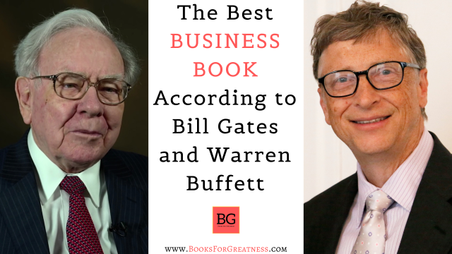 What is the best business book according to bill gates and warren buffett