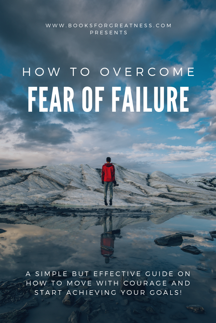 How to Overcome Fear of Failure Pinterest post